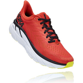 Hoka One One Clifton 7 Hardloopschoenen Heren, chili/black